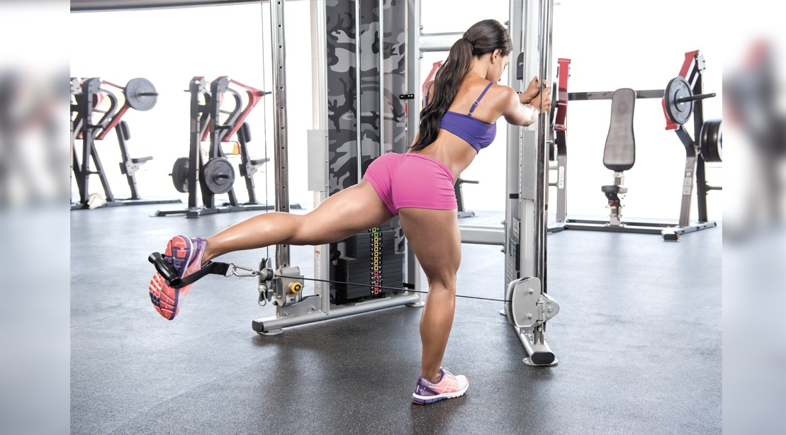 The one machine leg day workout routine muscle fitness