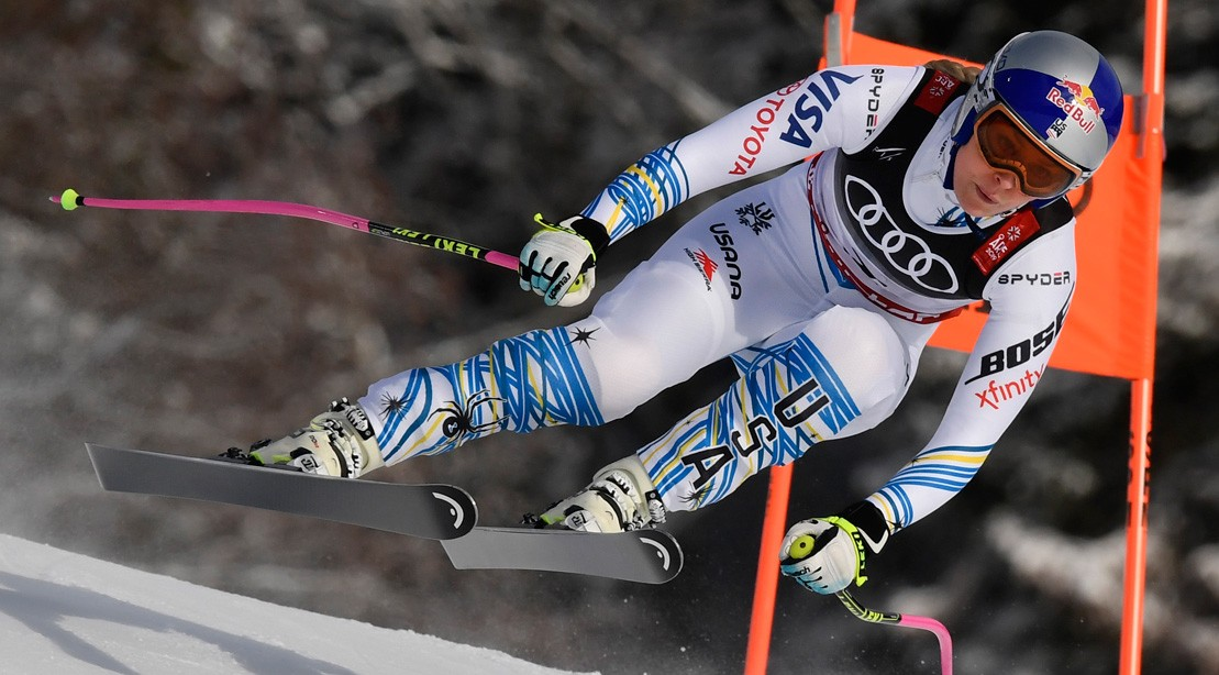 """Lindsey Vonn Joins """"The Rock's"""" Project Rock Team"""