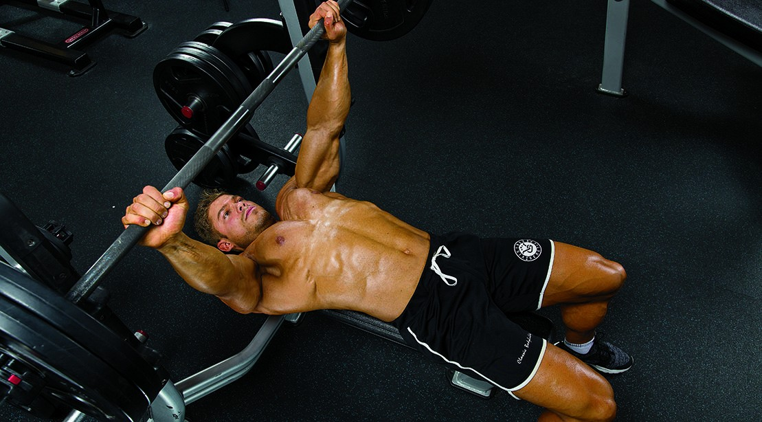 Wesley Vissers S Chest Workout Routine For Bigger Pecs Muscle Amp Fitness