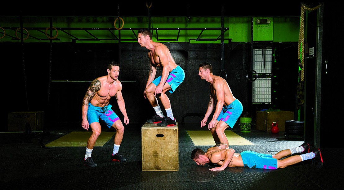 Workout Routine: Burn Fat With The Burpee Box Jump-vver ...