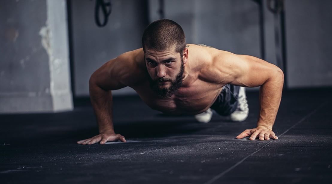 man gym pushup 1109