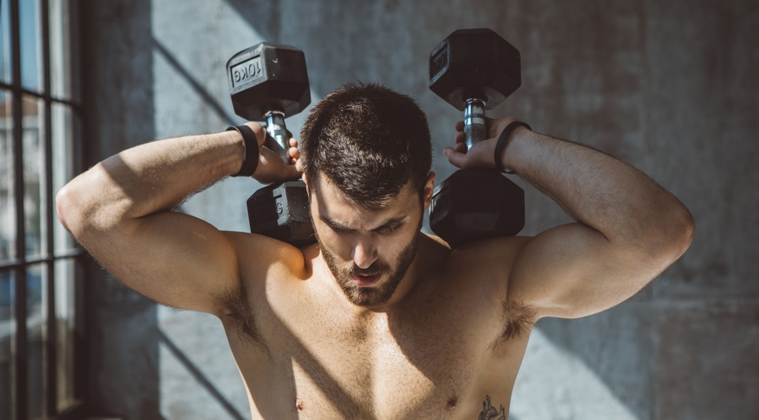 A Straight Guy On His Workout