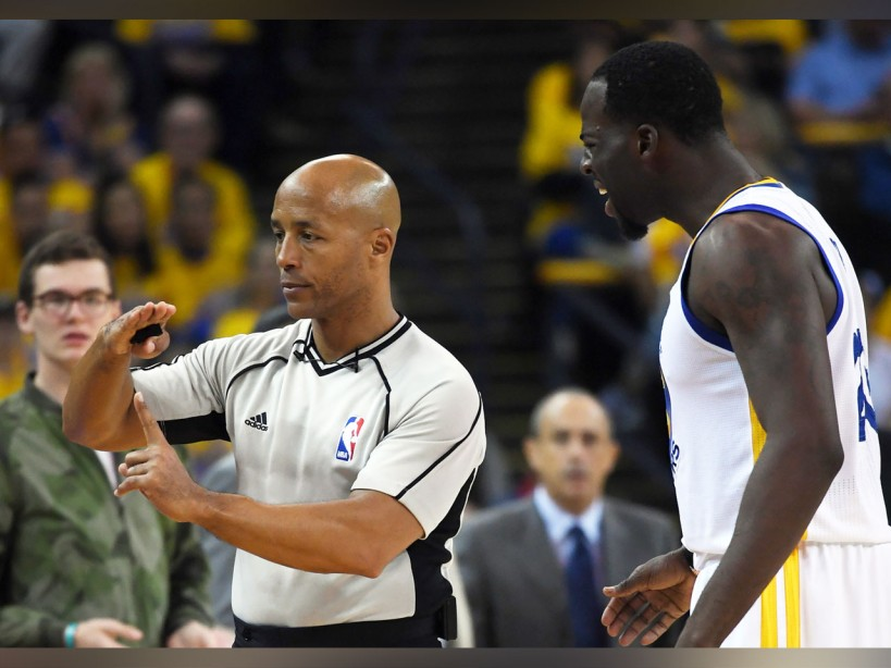 NBA referee Marc Davis