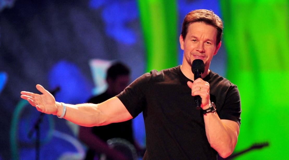Mark Wahlberg Onstage