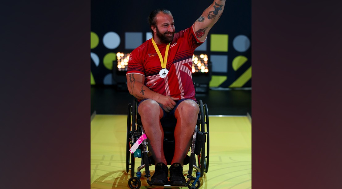Martin Tye at the 2017 Invictus Games