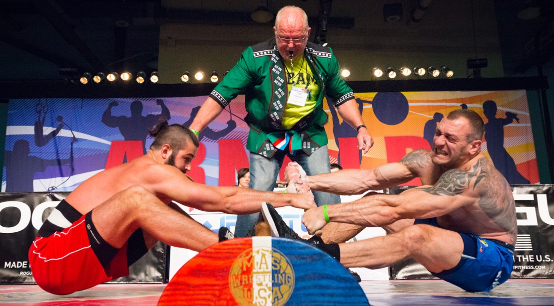 Don't miss Mas Wrestling at the Arnold Sports Festival