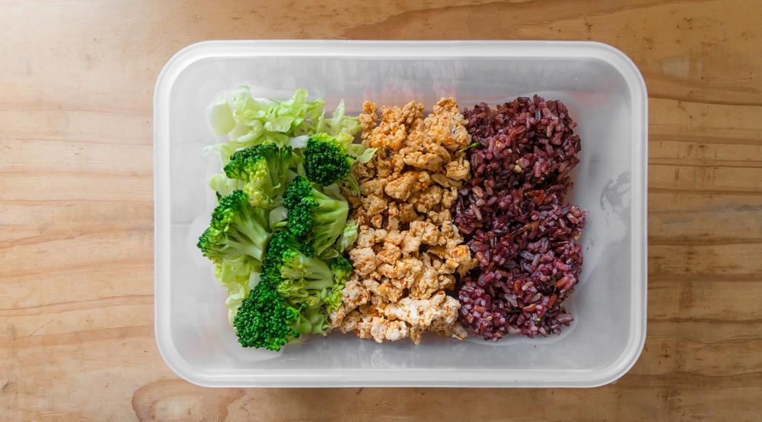 Broccoli Chicken Rice Meal Prep