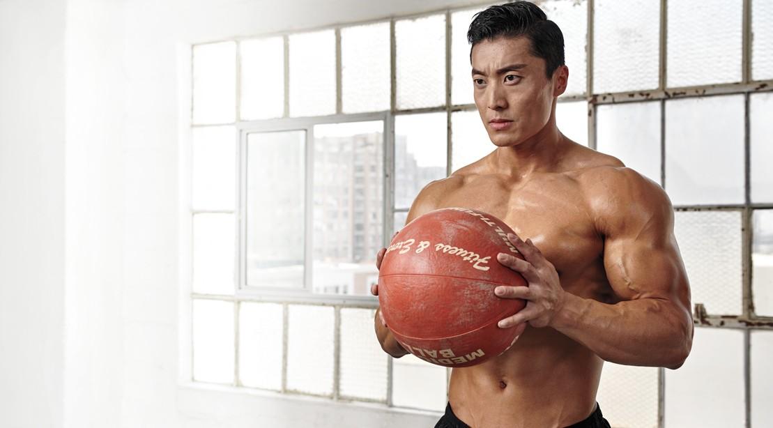 Two Medicine Ball Workouts That Take Less Than 30 Minutes