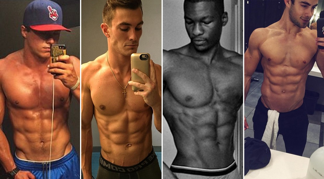 Sexy guys with abs