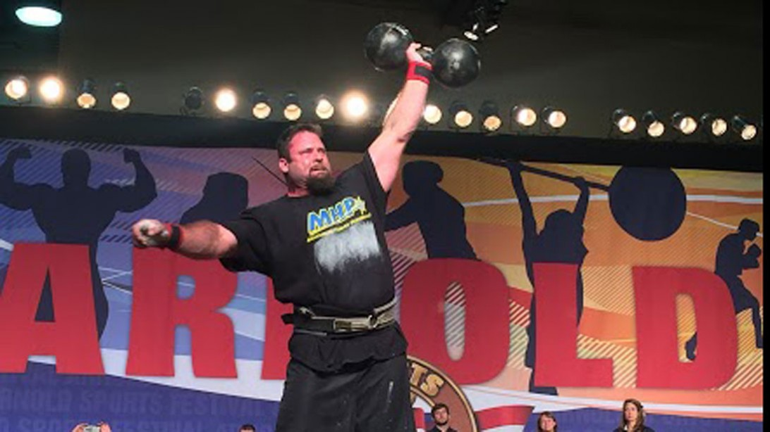 Strongman Mike Burke Has Crazy Grip Strength