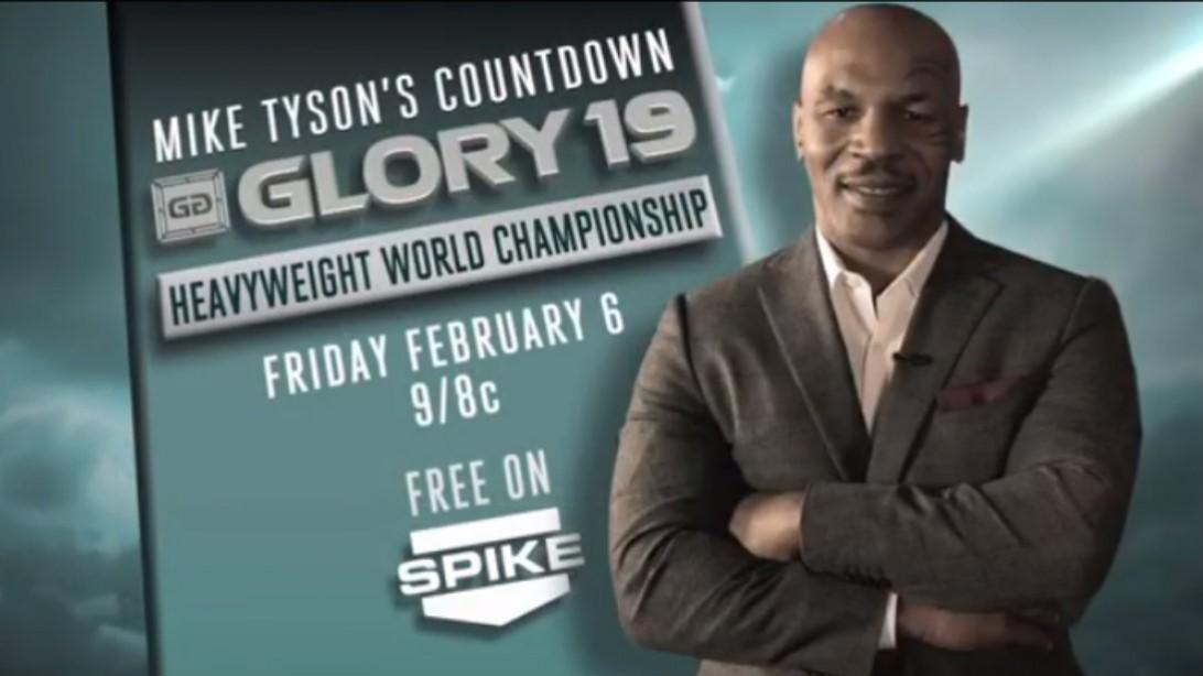 Mike Tyson Glory 19 Countdown
