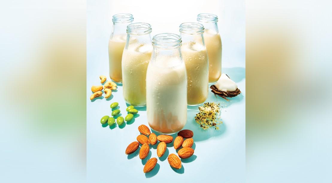 Healthy, Non-Dairy Options to Regular Milk