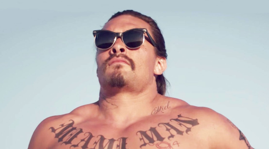 Jason Mamoa Posing In Upcoming 'Bad Batch' Trailer