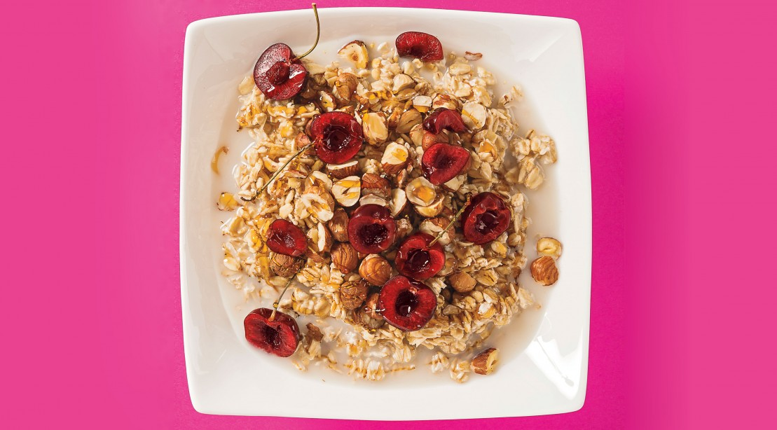 Cherry Hazelnut Muesli