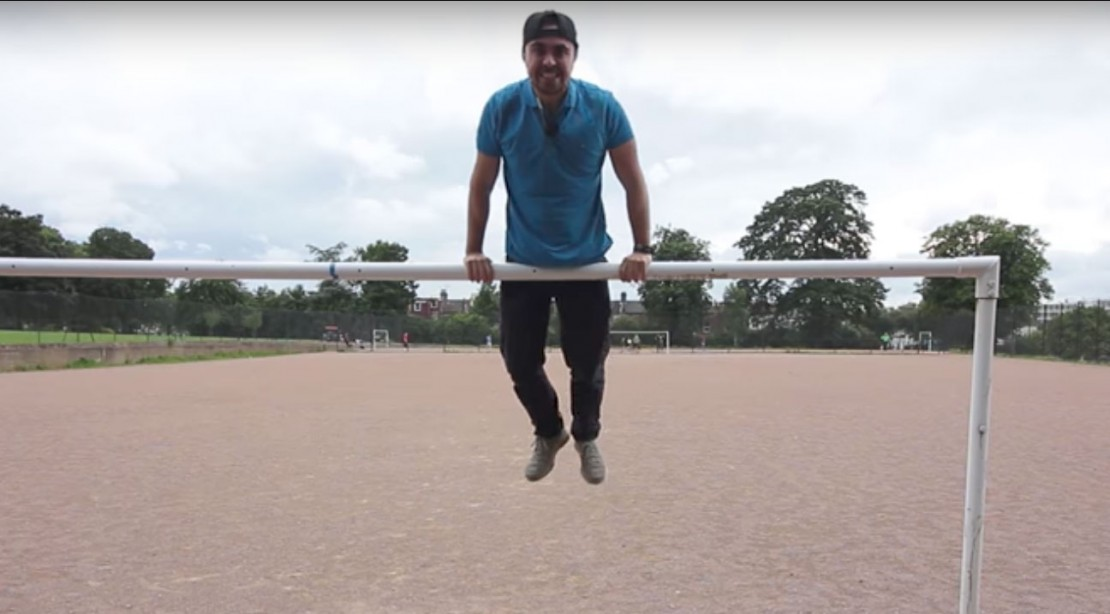 Watch This Man Learn to Muscle-Up in 93 Days