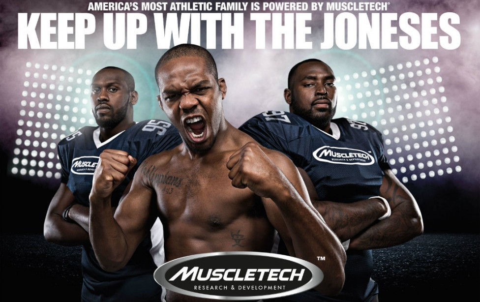 Muscletech Keeping Up with Jones