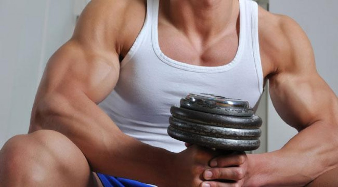 How to increase muscle size in arms at home