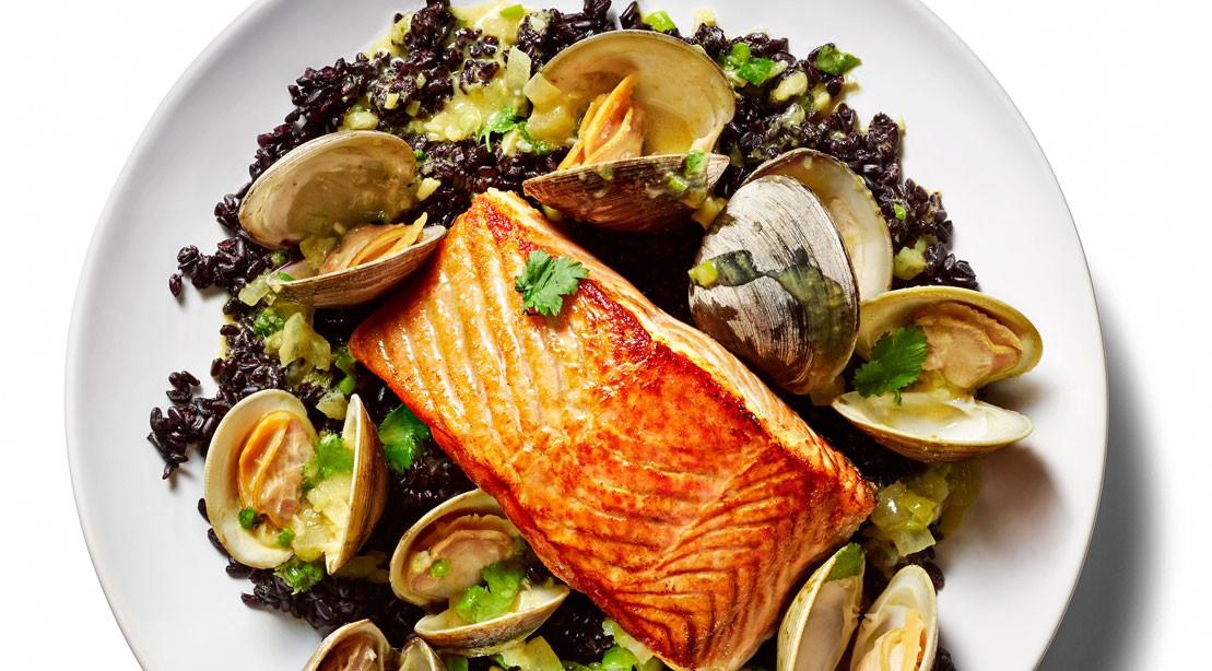 Robert Irvine's Seared Wild Salmon Recipe