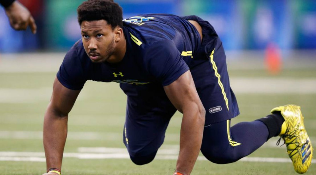 13 players who absolutely crushed their 2017 NFL Combine workouts