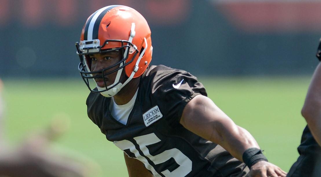 Myles Garrett, Cleveland Browns