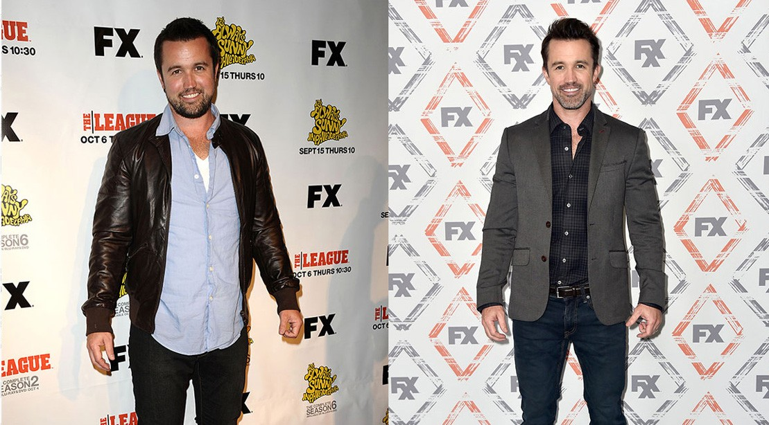 'It's Always Sunny' Star Rob McElhenney's Body Transformation Is Insane