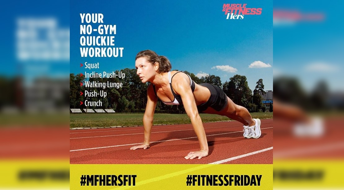 Take On Our Fitness Friday Challenge   Muscle & Fitness