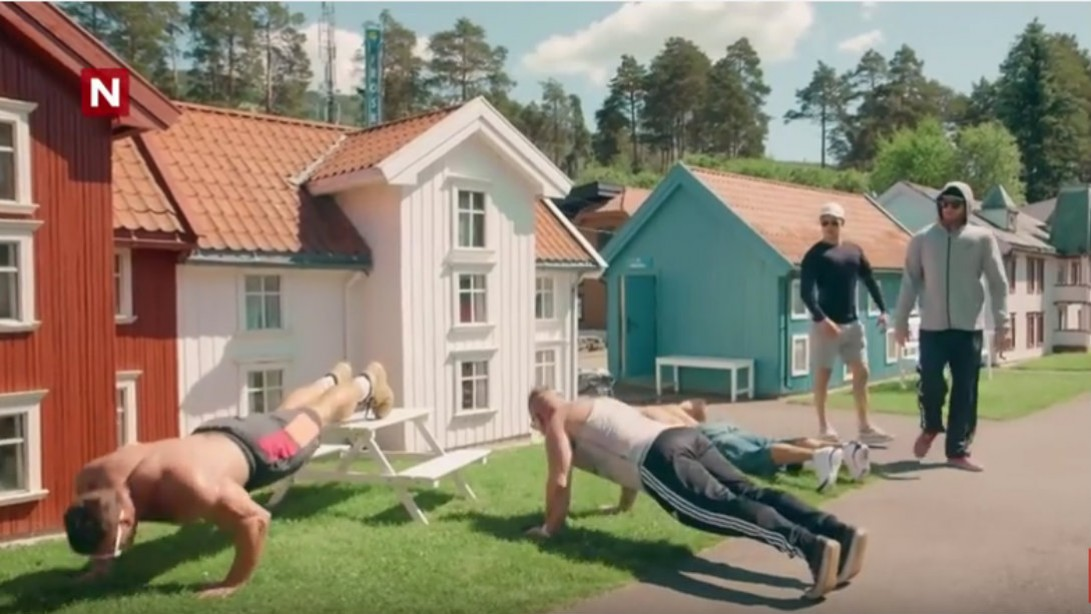 Norwegian Bodybuilders Invade Tiny Town   Muscle & Fitness
