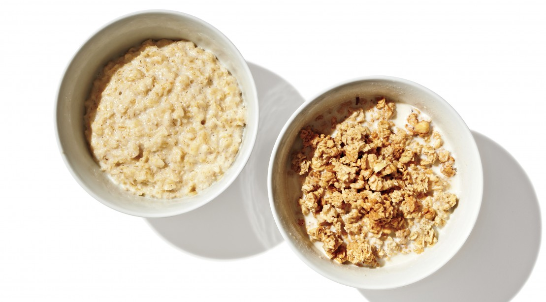 Oatmeal vs granola cereal which is healthier muscle fitness oatmeal and granola ccuart Images