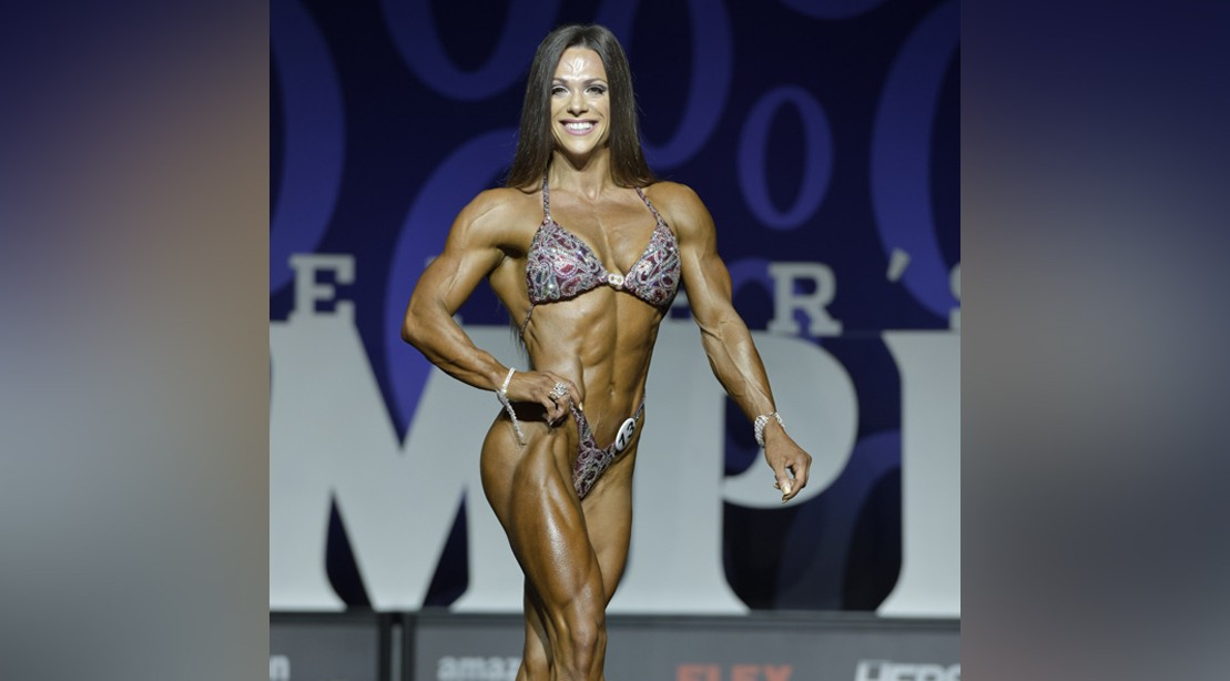 Oksana Grishina at the 2017 Olympia