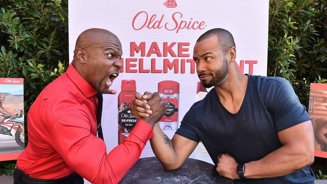 Crews and Mustafa Battle it Out in Old Spice Campaign