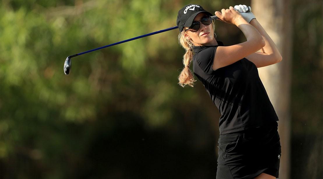 Pro golfer Paige Spiranac