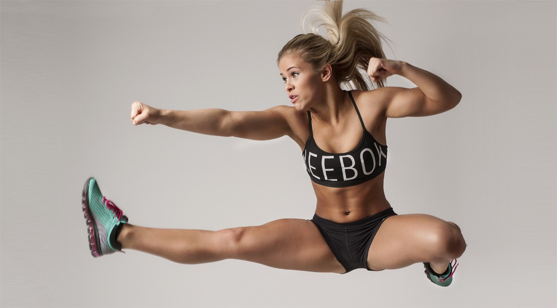 Paige VanZant Shares Training Clips and Rocks Bikini on the Beach