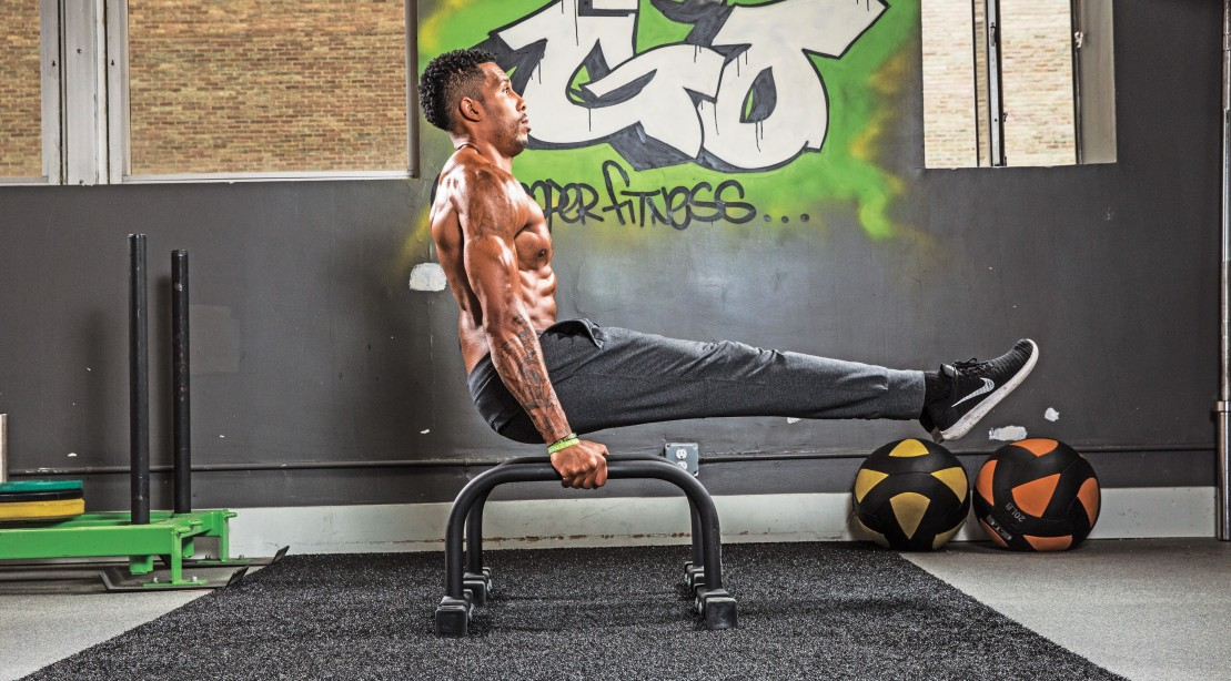 5 parallette bar moves to get ripped muscle fitness rh muscleandfitness com Parallette Training a Guide CrossFit Parallette Training