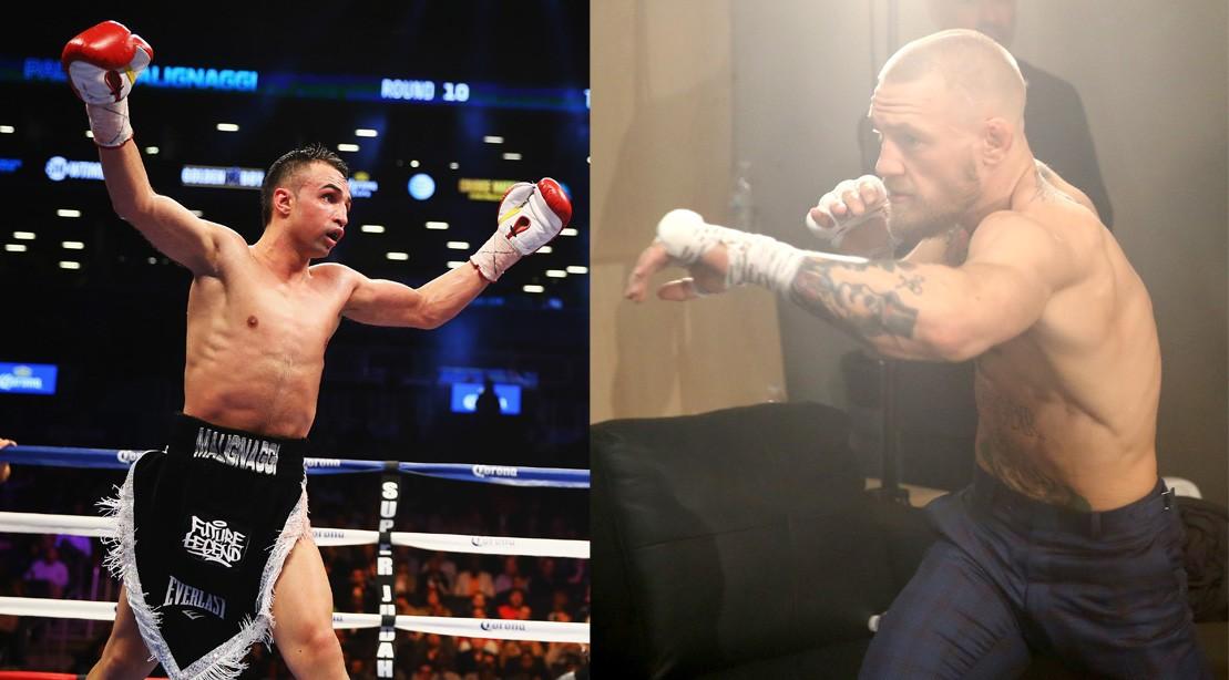 Paulie Malignaggi Confirms Fight Talks With McGregor, Says He 'Has no Balls,' Calls His Tactics 'Pu**y S**t'