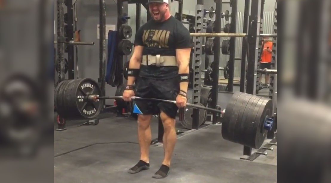 Pete Rubish Grinds Huge 900 Pound Deadlift