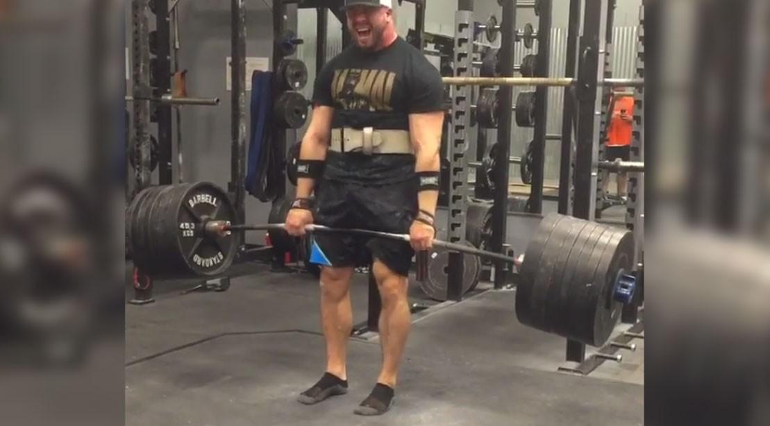 Pete Rubish Grinds Huge 900 Pound Deadlift