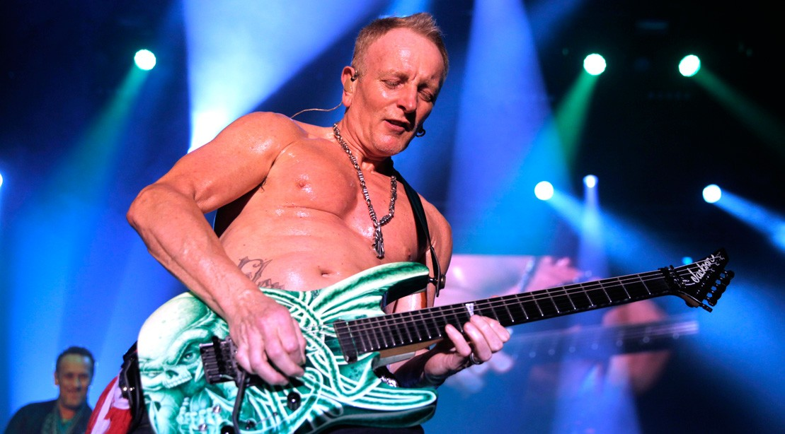 Def Leppard Guitarist Phil Collen