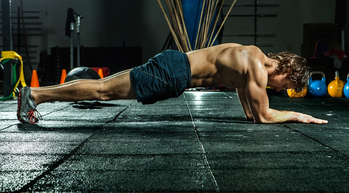 Man Doing Planks