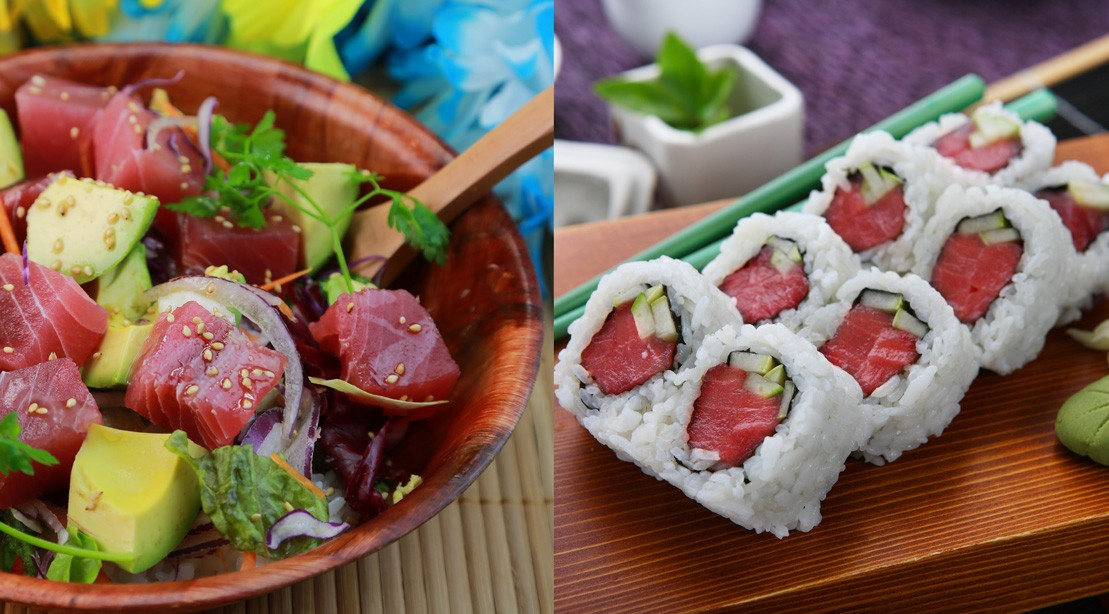 Which Is Healthier: Poke Bowl or Sushi Roll?