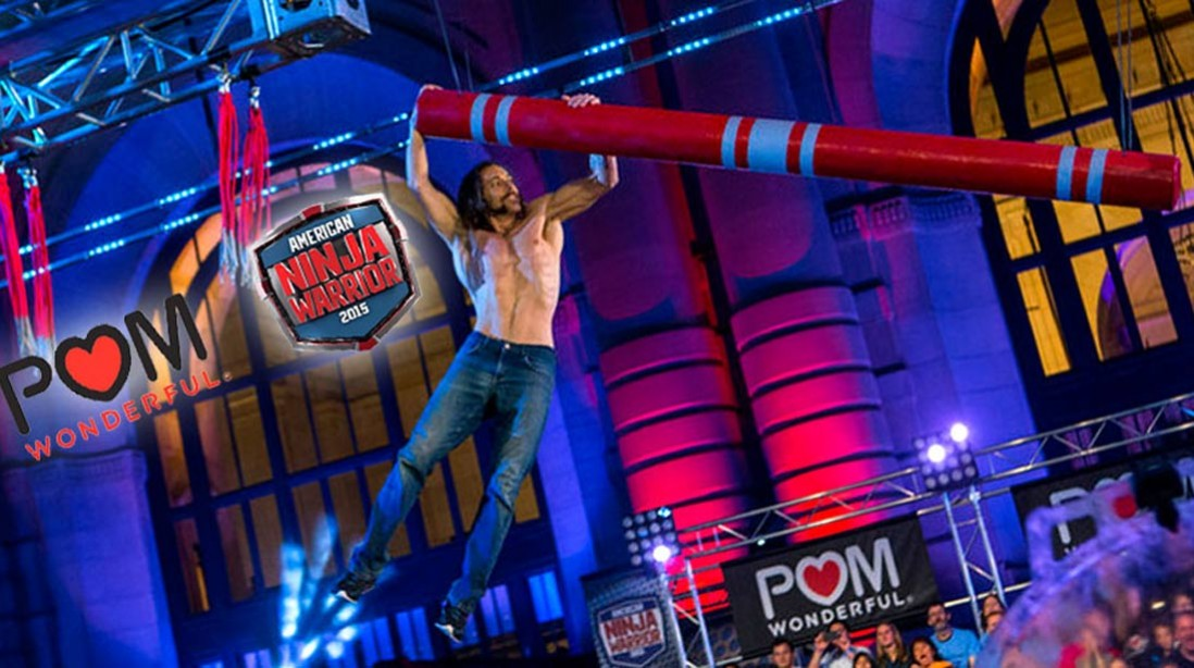 POM Wonderful® Joins NBC'S 'American Ninja Warrior' For Season 7 – Plus, Enter To Win A Trip To Japan!