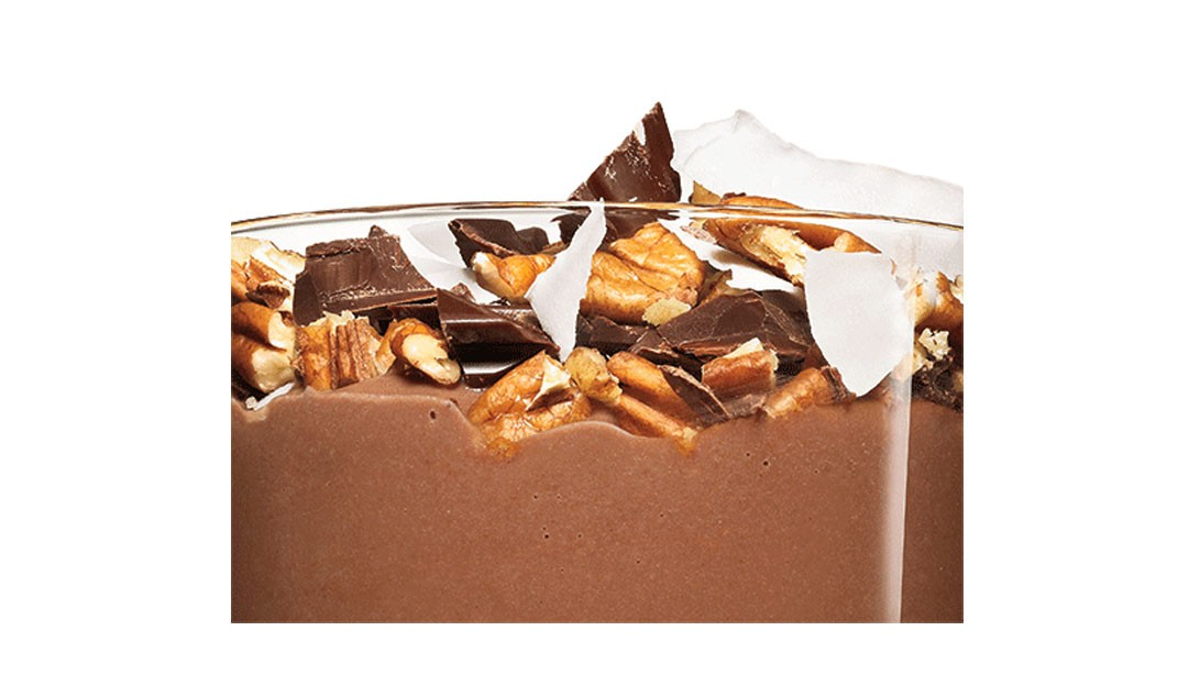 Rocky Road Casein Pudding