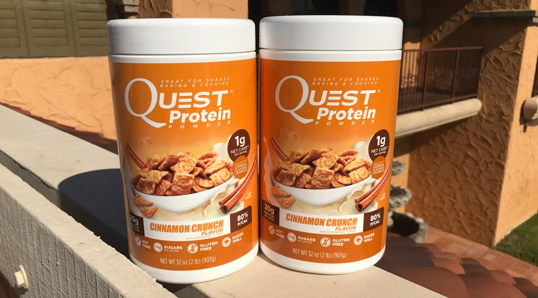 What's in Quest's New Cinnamon Crunch Protein Powder?