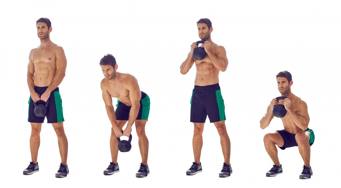 Kettlebell RDL to Goblet Squat