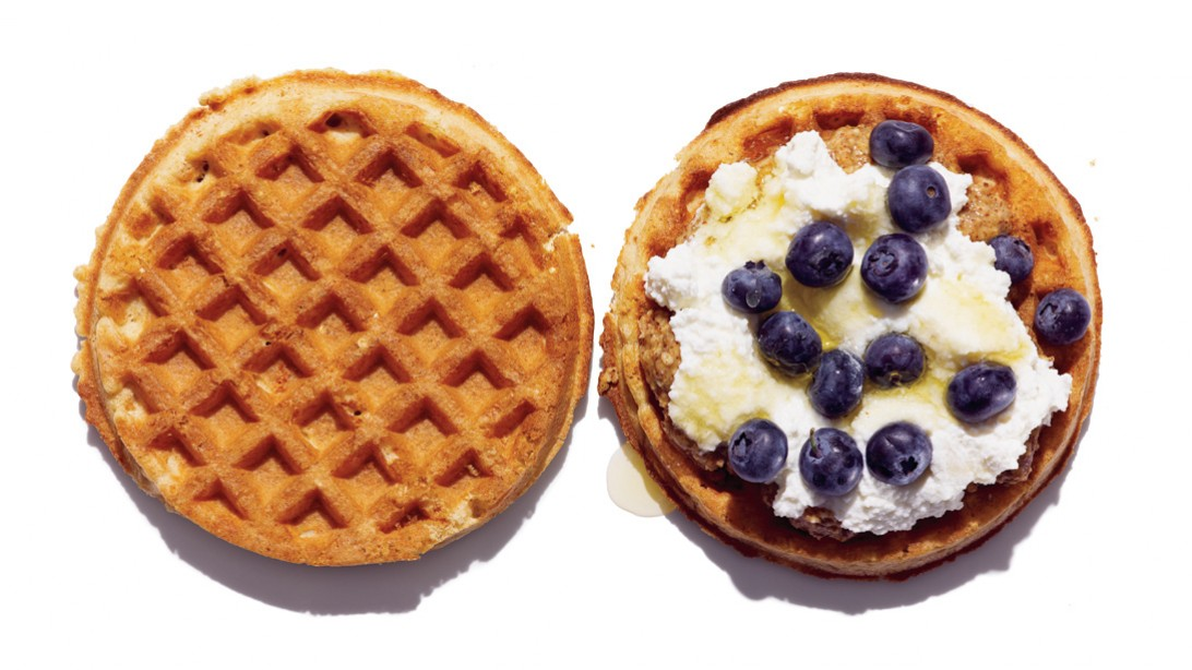 Healthy Breakfast - Ricotta Waffles