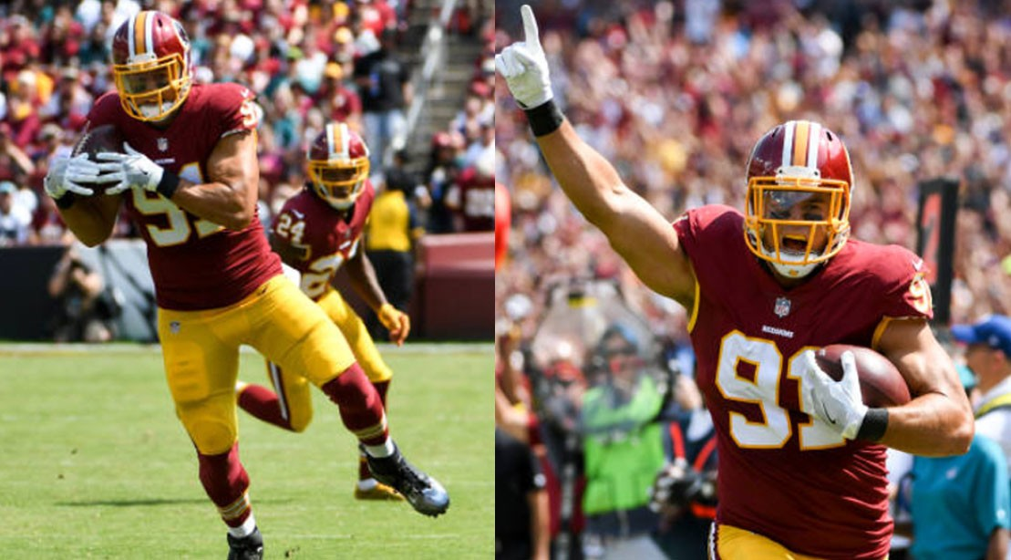 low priced db58d c2238 Redskins Star Ryan Kerrigan Talks Speed, Go-To Workouts, and ...
