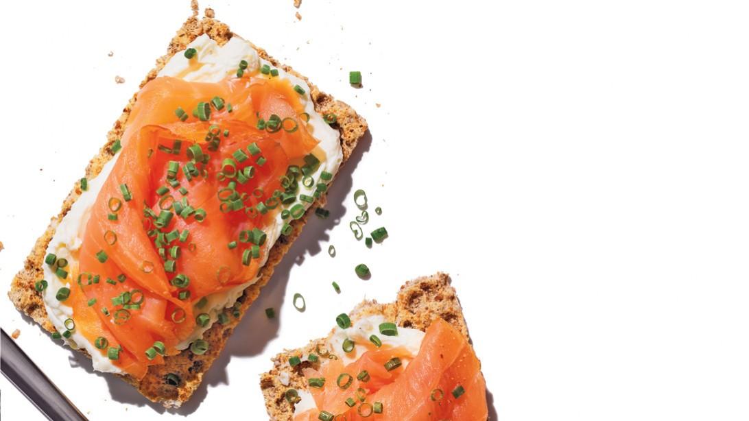 Salmon Crackers