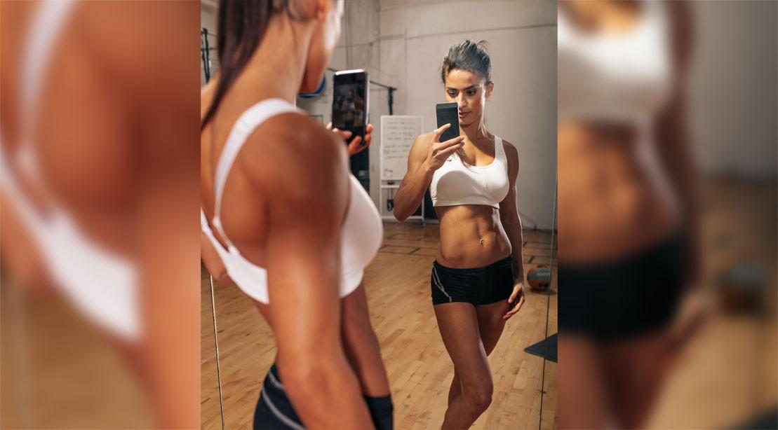 Keep Taking Mirror Selfies to Slim Down