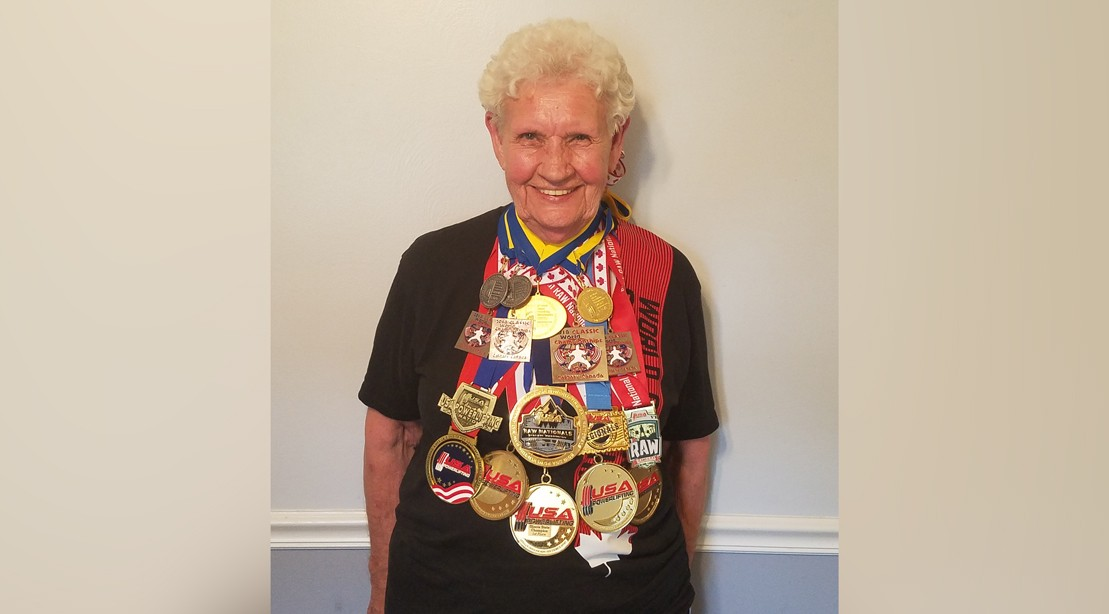 Shirley Webb 82-Year-Old Powerlifter