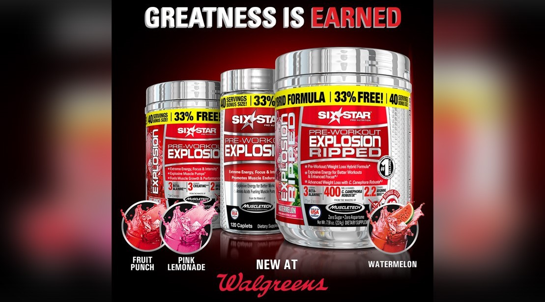 Supp of the Week: MuscleTech's Pre-Workout Explosion