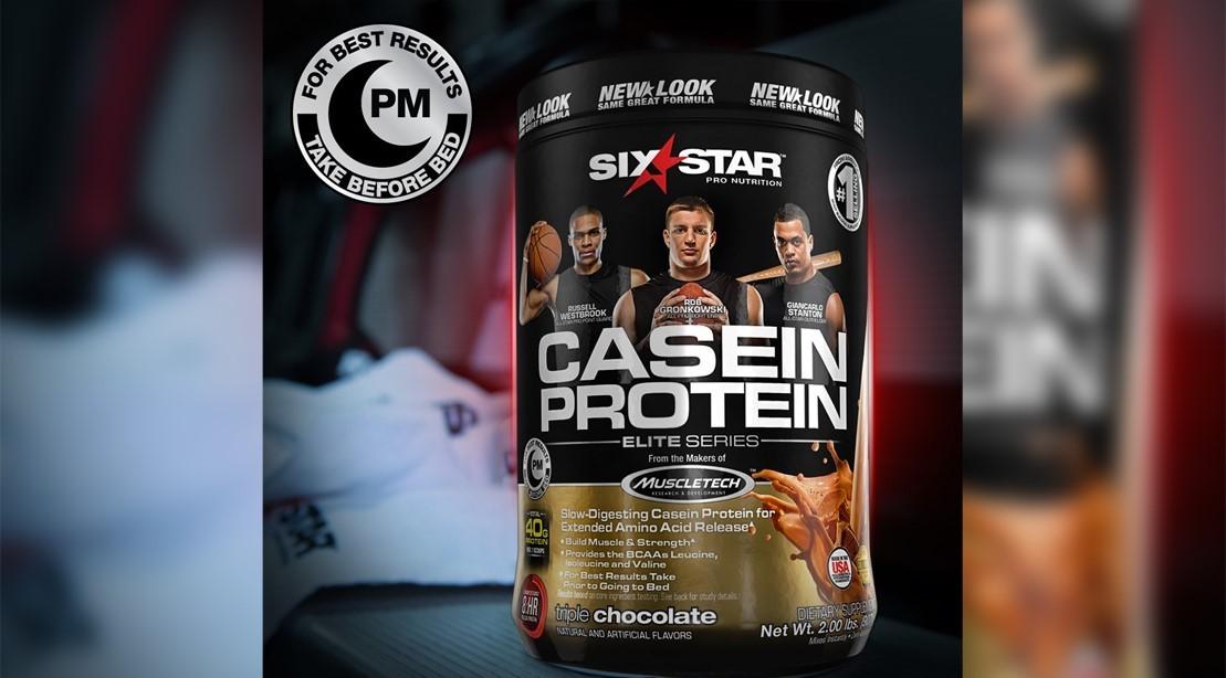 MuscleTech's Six Star Casein Protein